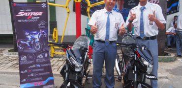Edukasi Siswa SMK Melalui Teknologi Terbaru All New Satria F150