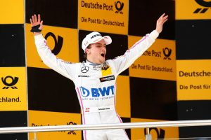 Motorsports: DTM race Lausitzring